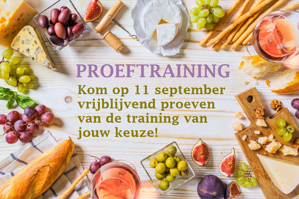 2 gratis proeftrainingen op 11 september