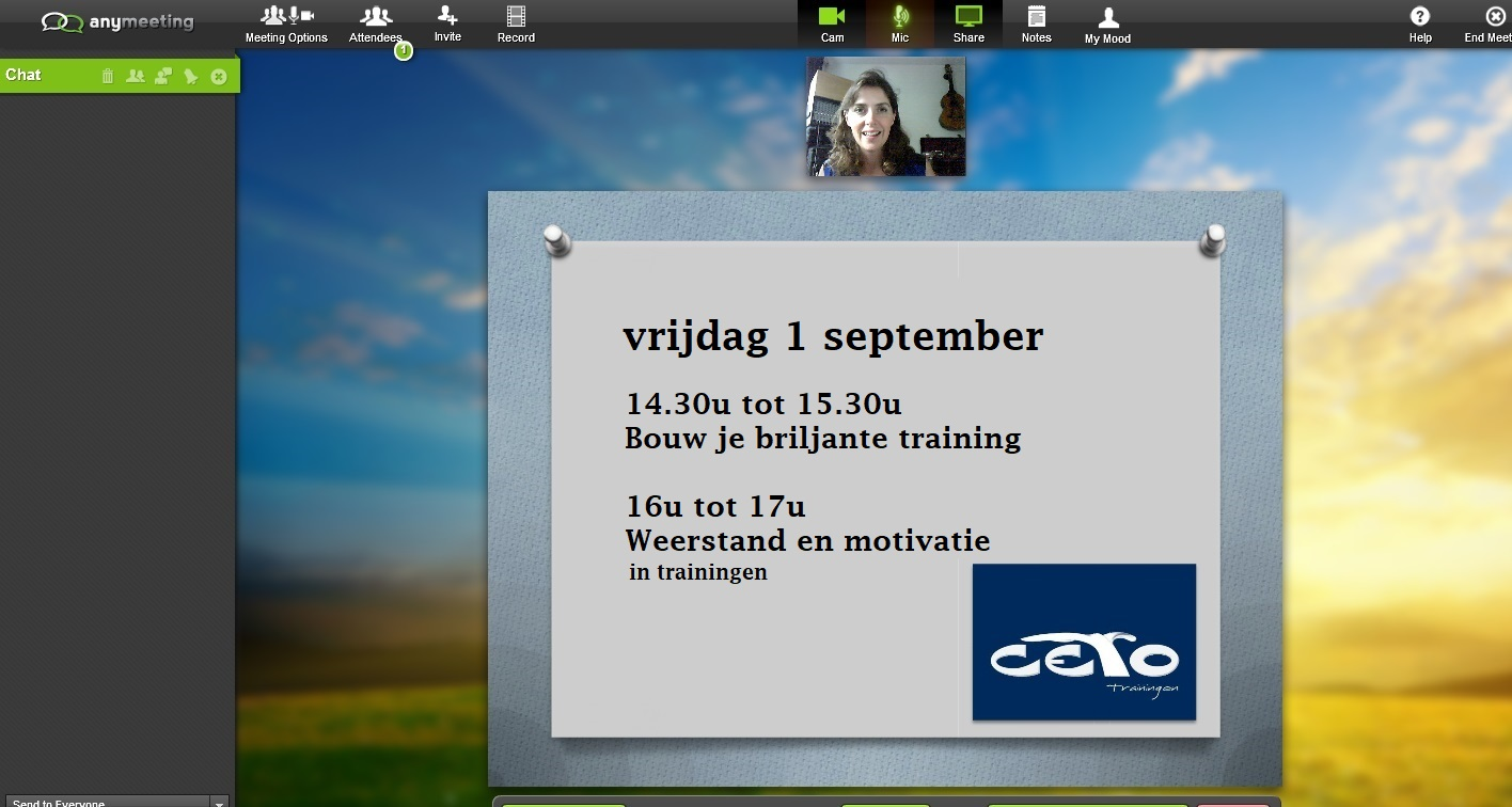 webinars op 1 september